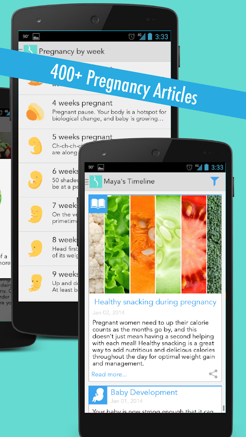 Ovia Pregnancy Tracker Android Apps On Google Play