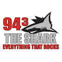 94.3 The Shark logo