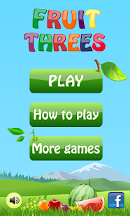 Fruit Threes