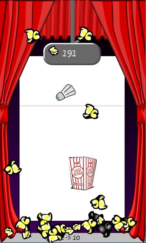 Popcorn PileUP - screenshot