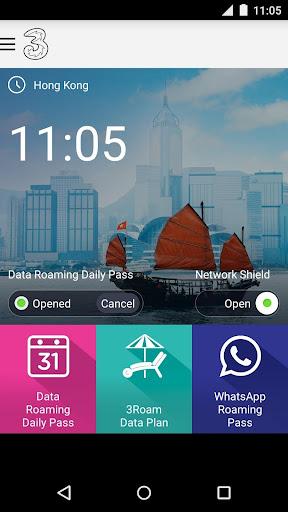 3香港數據漫遊組合