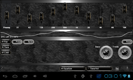 poweramp skin black snake Screenshot 8