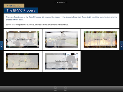EMAC Essentials App- screenshot thumbnail