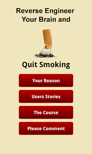 Quit Smoking Course