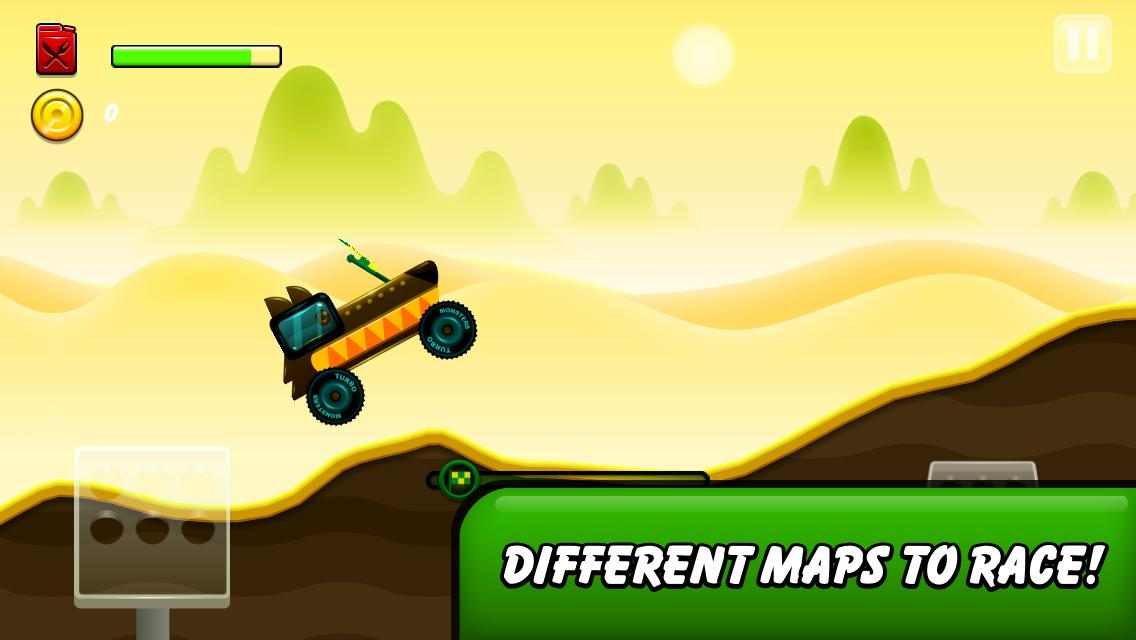 Monsters Climb Race: hill race - screenshot