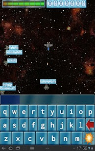 Qwerty Space Wars- screenshot thumbnail