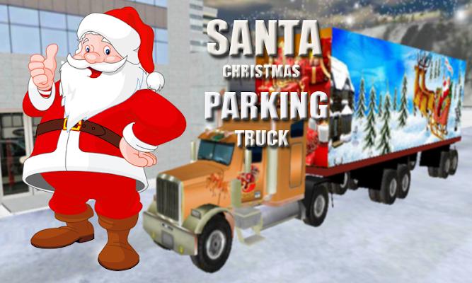 Santa Christmas Truck Parking - screenshot