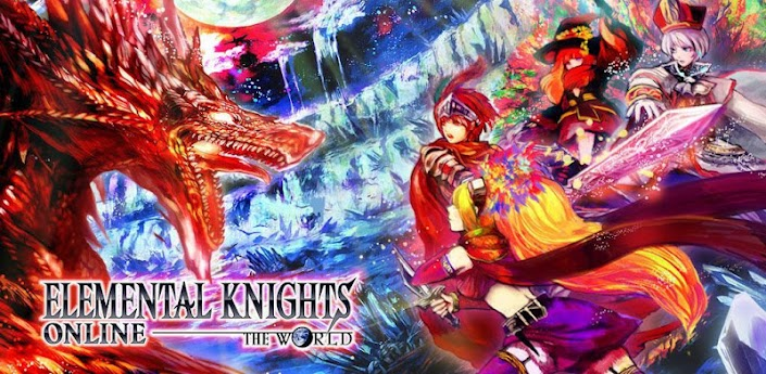RPG Elemental Knights Online apk