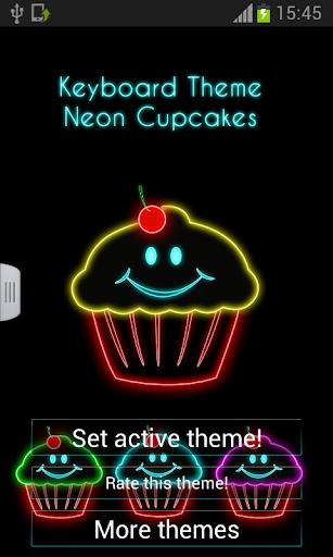 鍵盤主題霓虹燈蛋糕