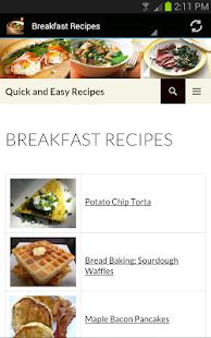快速和简易食谱 生活 App-癮科技App