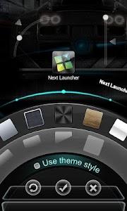 Next Launcher Theme SmartCar v1.3