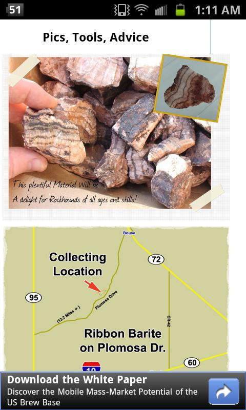 Mineral Collecting Quartzsite- screenshot