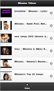 Rihanna Videos - screenshot thumbnail