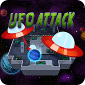 UFO Attack - Rolling ball game