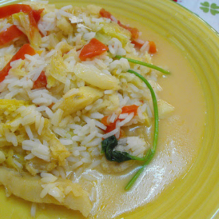 Cod Fish Rice.