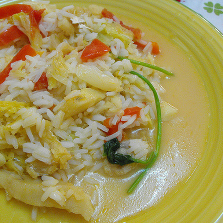 Cod Fish Rice Recipe