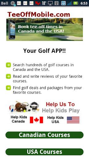 Alberta Golf Courses