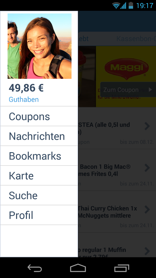 COUPIES Coupons & Gutscheine - screenshot
