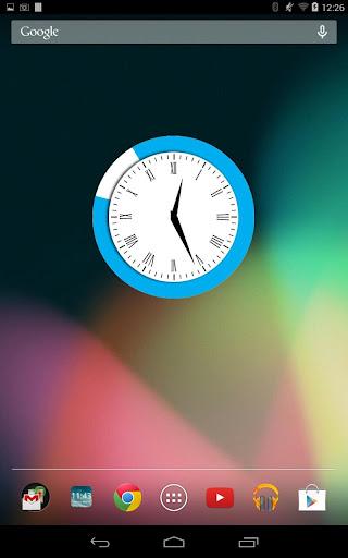 Lagoon Clock Free Widget