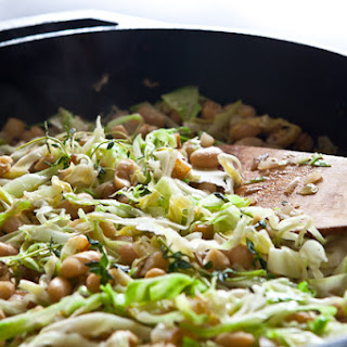 White Beans and Cabbage.