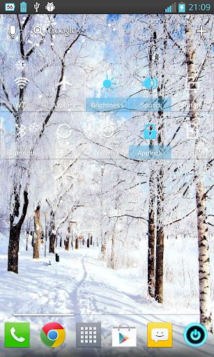Snowfall-Winter LiveWallpaper