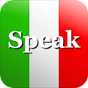 Speak Italian logo