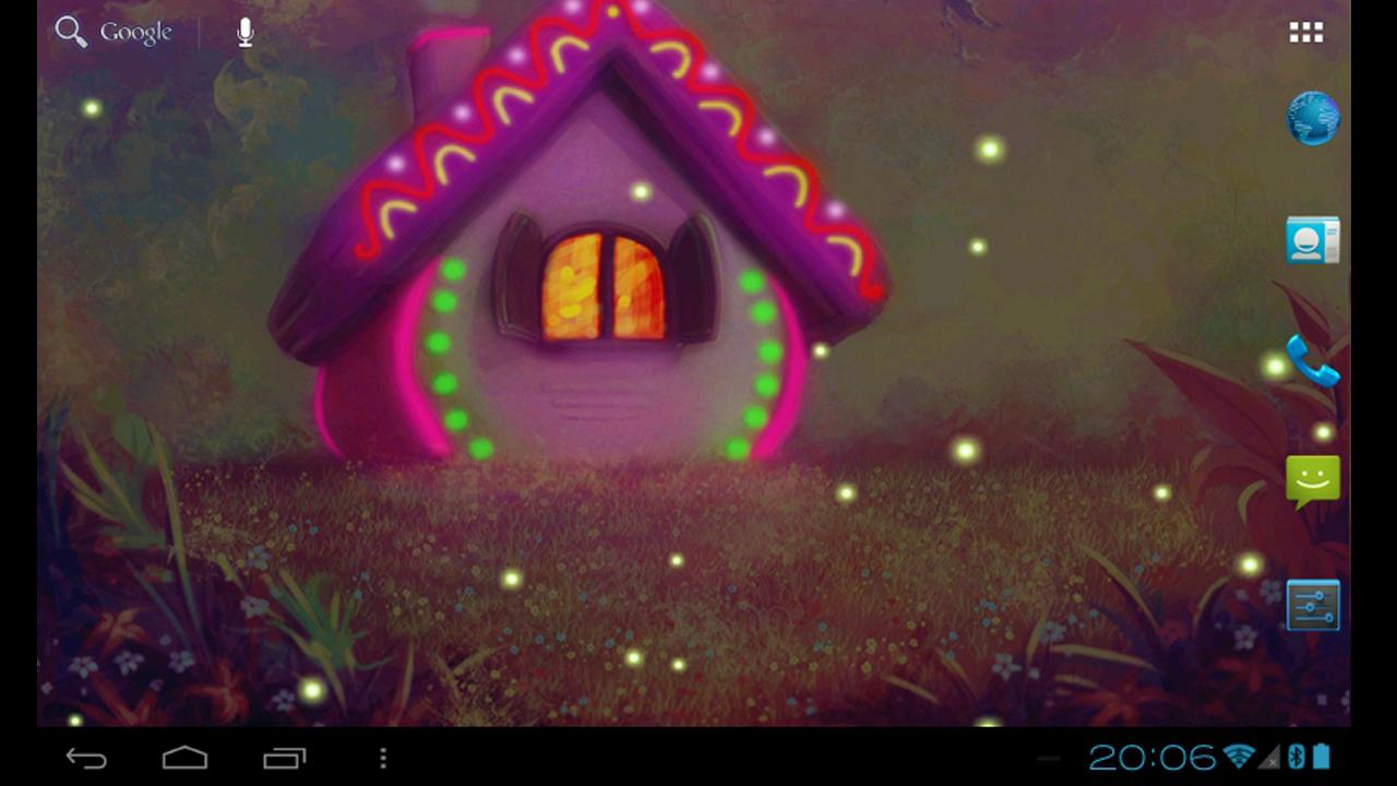 Sweet home colorful day night live wallpaper android for Wallpaper live home