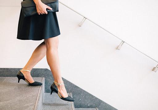Boardroom to bar heels