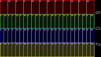 Screenshot of Slider Synth