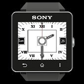 SW2 White Analog Clock Free