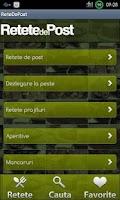 Screenshot of Retete De Post