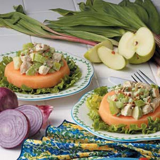 Cantaloupe Chicken Salad.