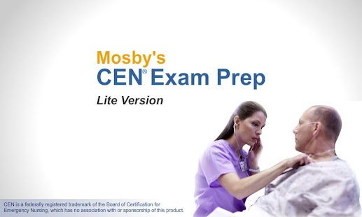 Mosby's CEN® Exam Prep Lite - screenshot thumbnail
