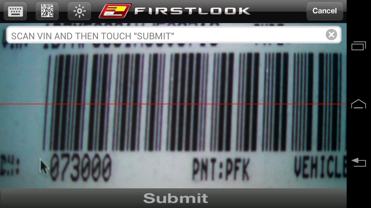 FirstLook Mobile Appraiser - screenshot