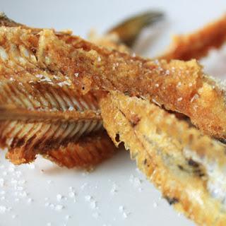 Deep Fried Fish Bones.