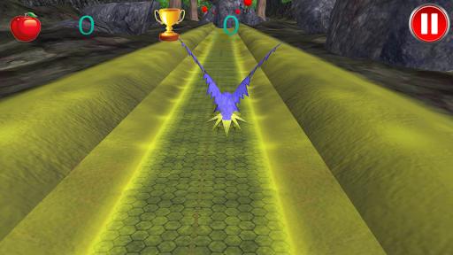 热带鸟的飞行3D