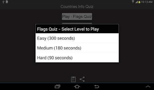 Countries Capital Flag Quiz - screenshot thumbnail