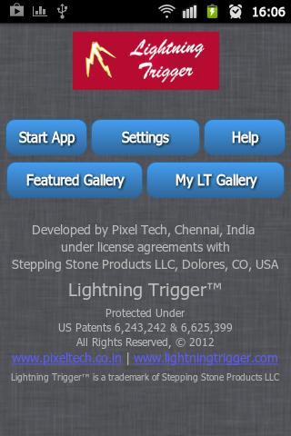 Lightning Trigger™ App