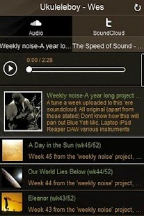 Weekly Noise - screenshot thumbnail
