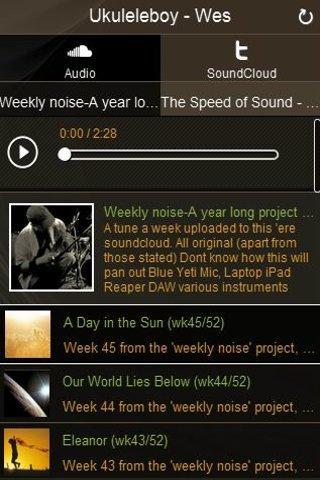 Weekly Noise - screenshot