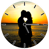 Hot Kiss Clock Widget