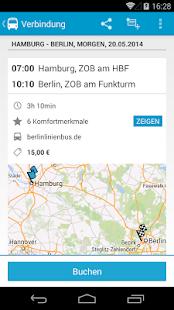 Busliniensuche - Fernbus App - screenshot thumbnail