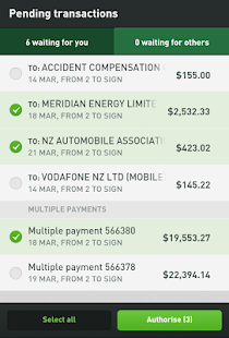 Kiwibank Mobile Banking - screenshot thumbnail
