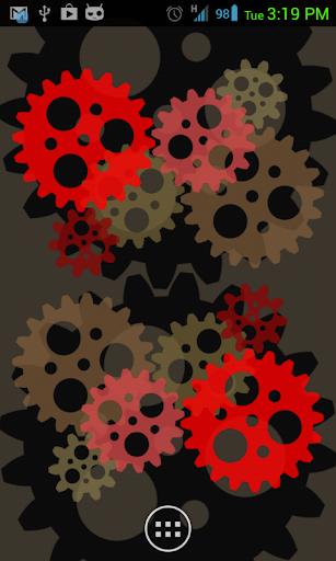 ColorGears Live Wallpaper