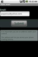 Screenshot of CTS tracker