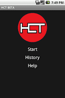 Screenshot of Heroclix Tournament Pairing