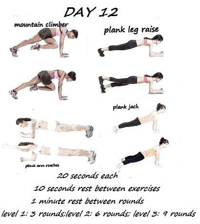 30 DAY OF HIIT FITNESS WORKOUT