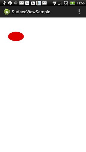 SurfaceView 画面描写