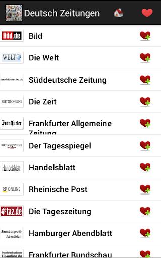 Deutsch Zeitungen