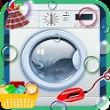Wash Kleidung des Kindes icon